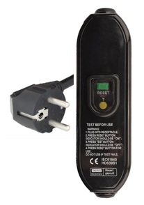 European Schuko RCD Power Cords