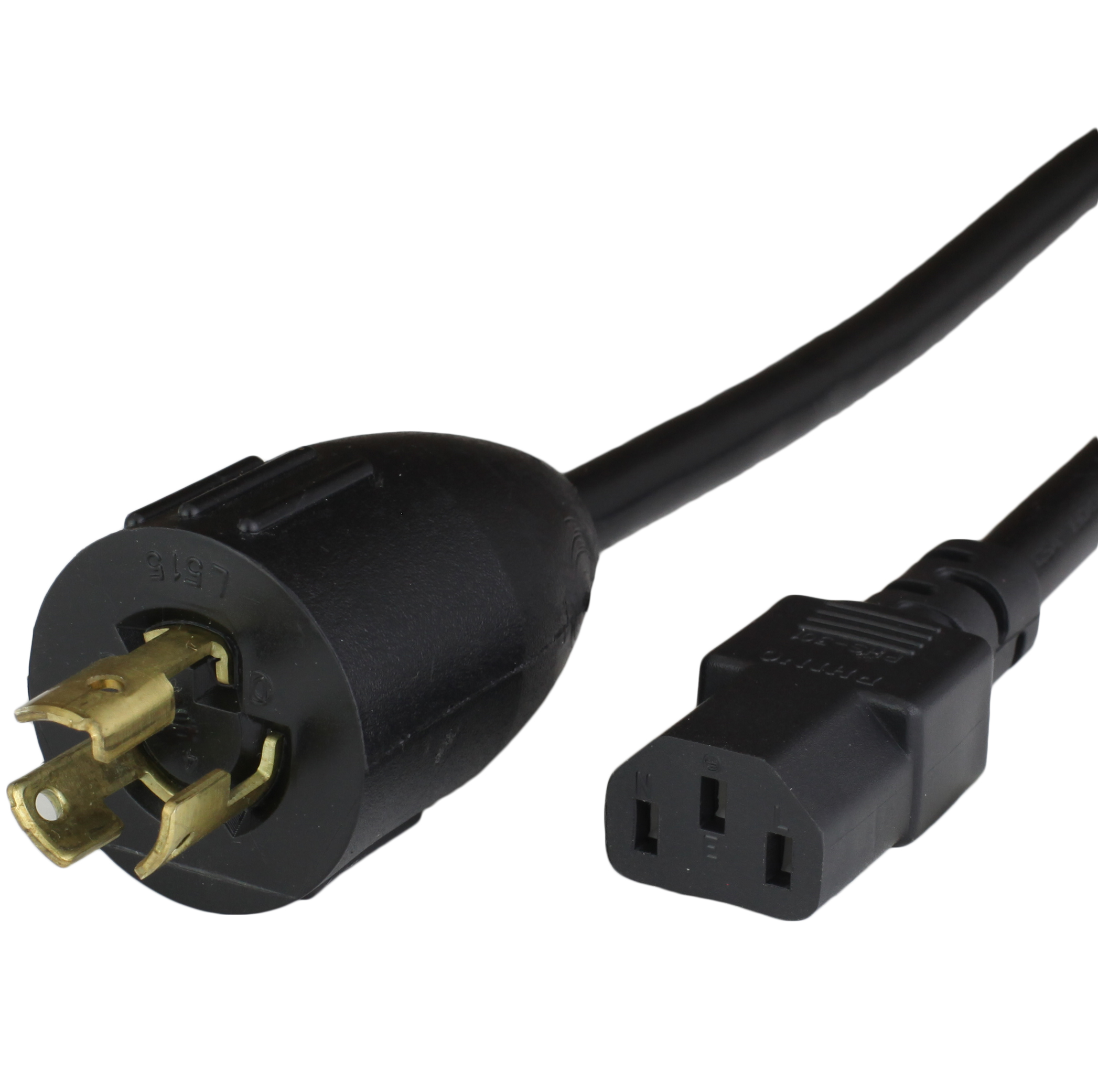 NEMA L5-15P to IEC60320 C13 Power Cords