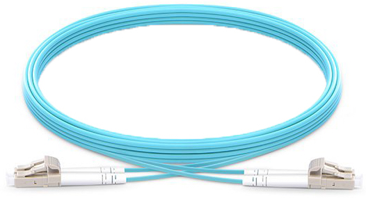 OM4 LC LC Fiber Patch Cable