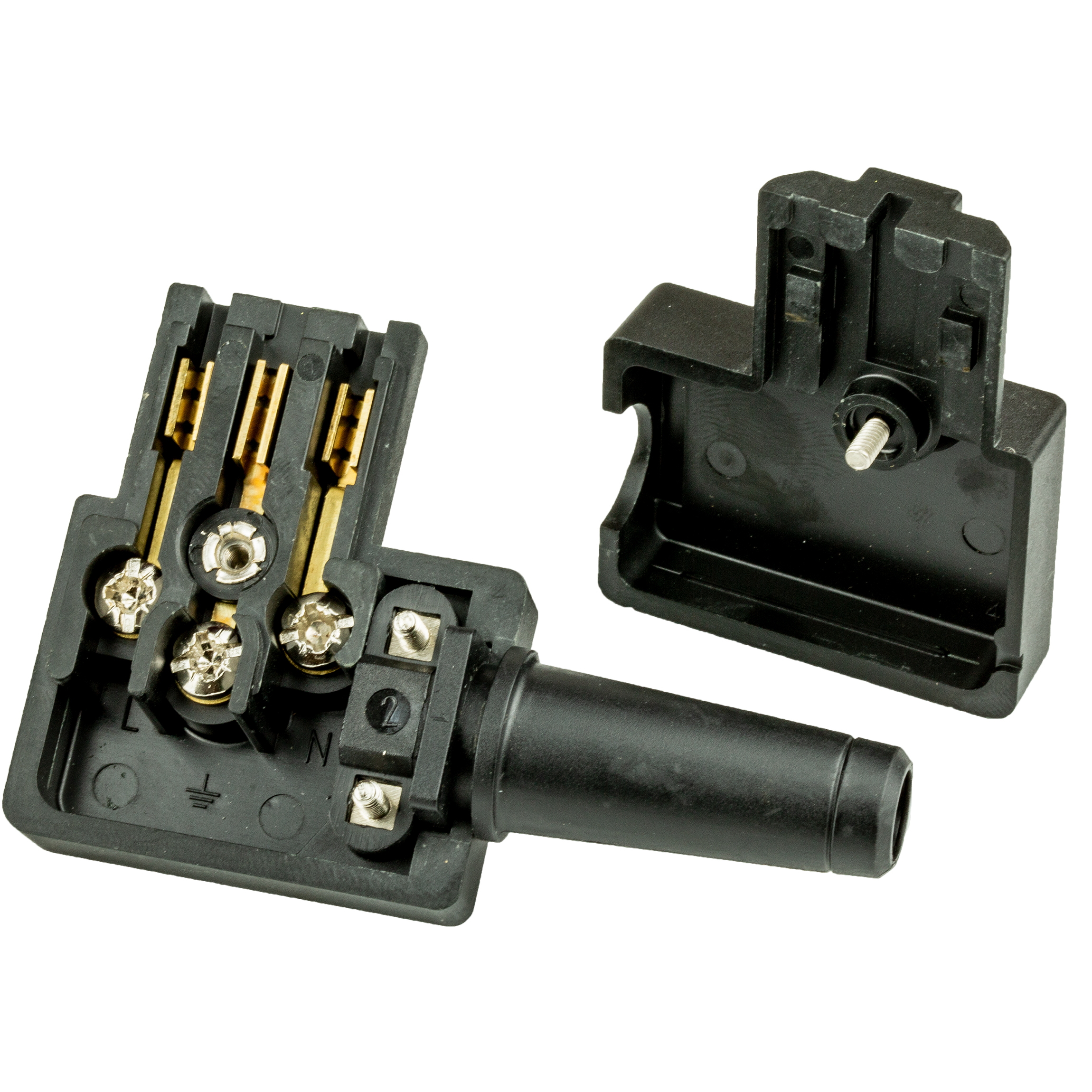 Rewireable C13 Connector