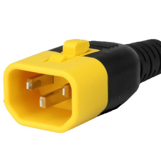 IEC 60320 C14 V Lock