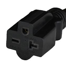 NEMA 6-20R Connector