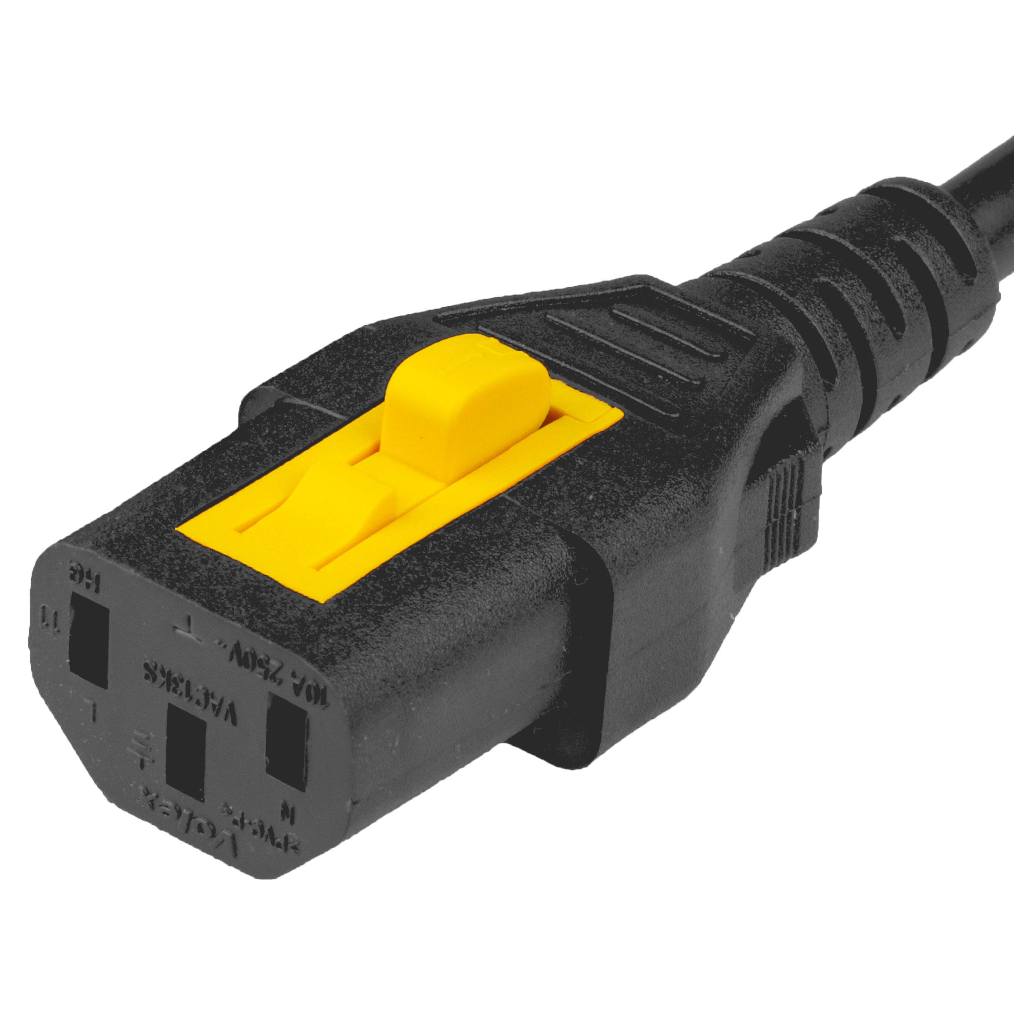 IEC 60320 C13 V Lock
