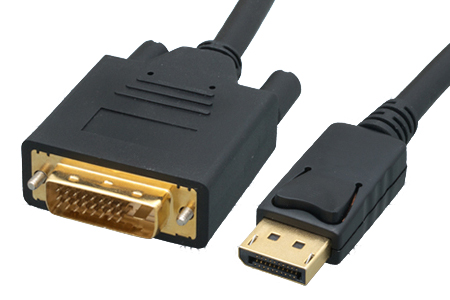 DisplayPort to DVI 28AWG Cables