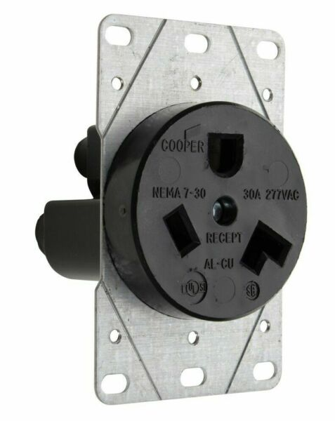 NEMA 7-30R Wall Outlet