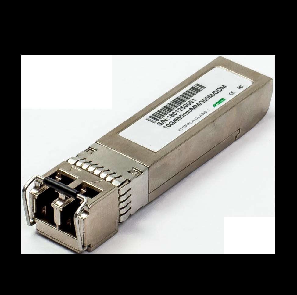 Cisco SFP-10G-SR Compatible 10GBASE-SR SFP+ 850nm 300m DOM Transceiver Module