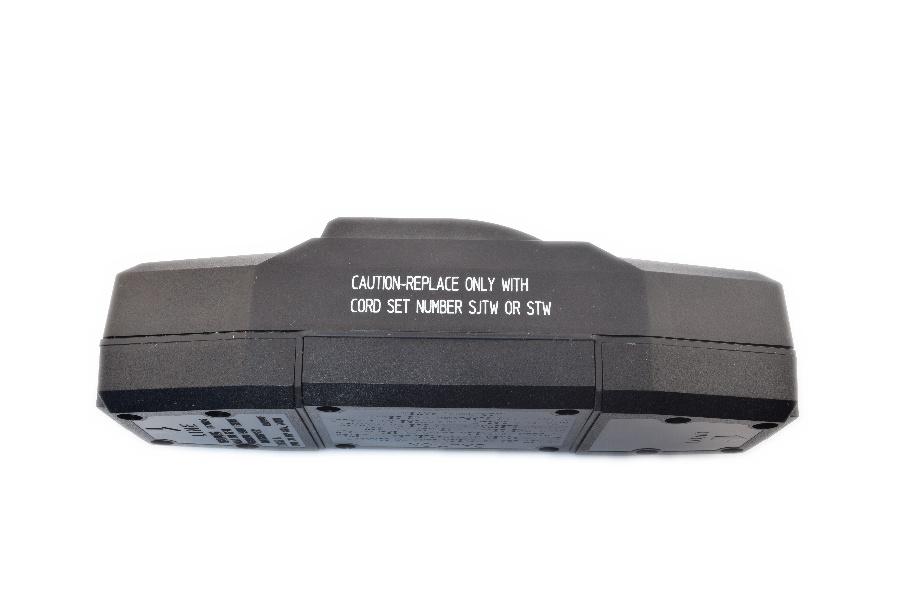 GFCI, In-Line, Manual Reset, Black, 20A 120V, UL