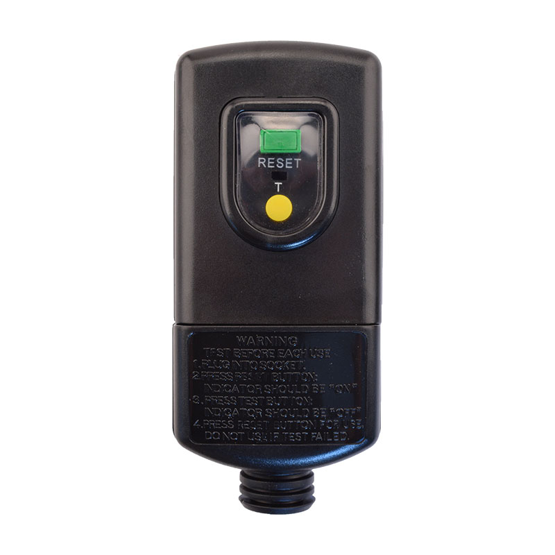 MANUAL RESET - User Attachable RCD - Plug Head Style