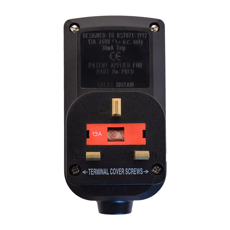 AUTOMATIC RESET - User Attachable RCD - Plug Head Style