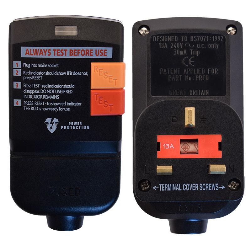 Photo of 13 Amp User Attachable Australian RCD Plug Head