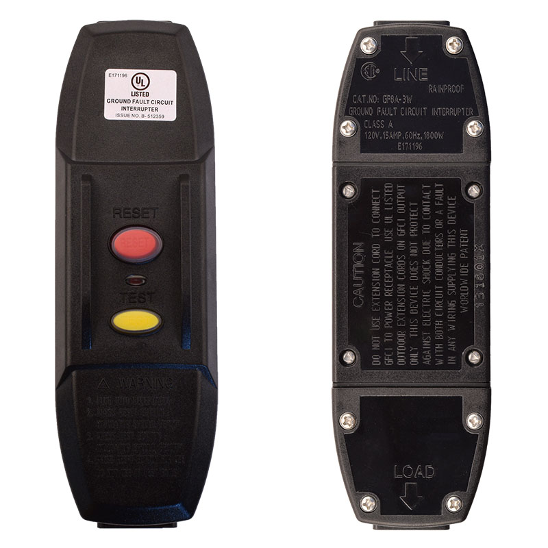 Photo of 10 Amp User Attachable Auto Reset Inline GFCI