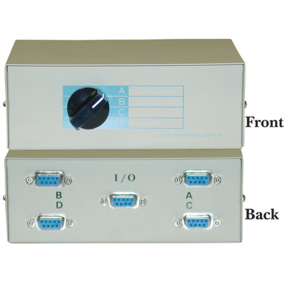 DB9 Manual Switchbox