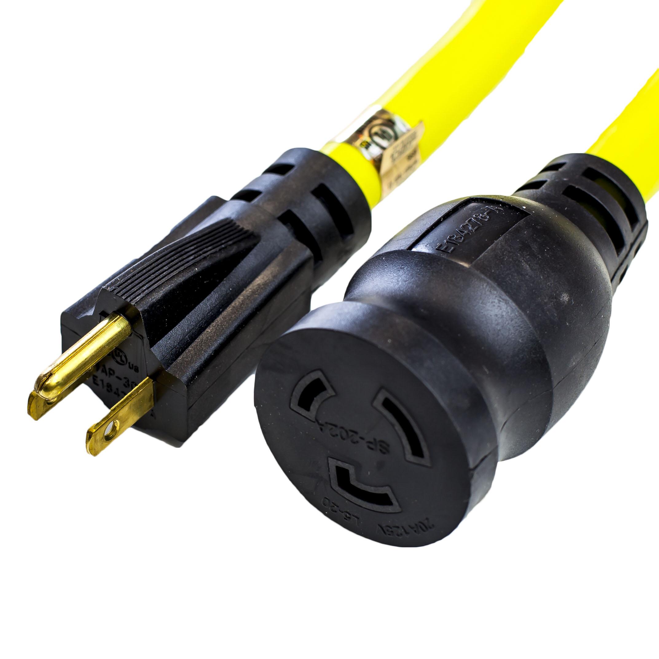 NEMA 5-15P Adapter Cords