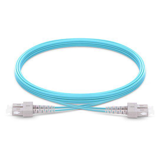 SC to SC, OM3 Multimode Duplex, 50/125 Fiber Optic Patch Cables