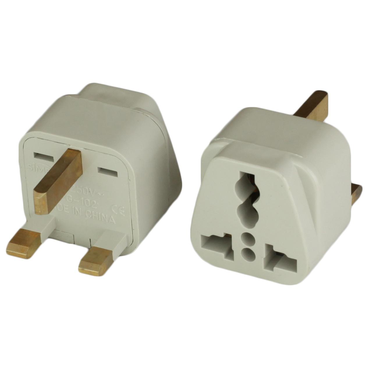 United Kingdom BS1363 Plug Adapters